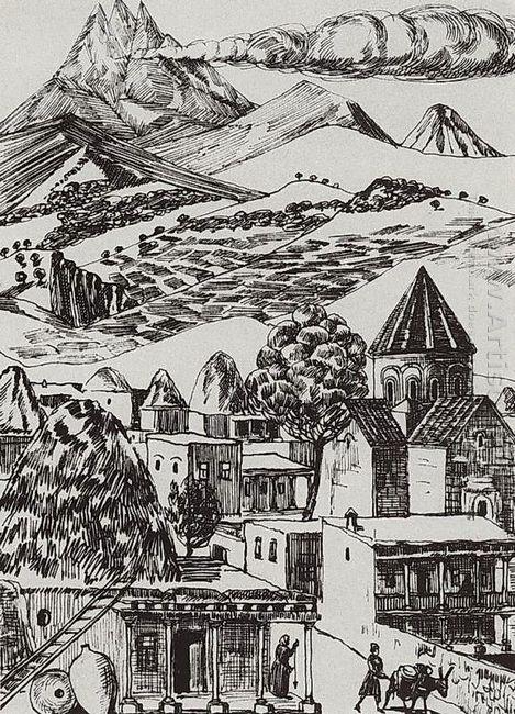 Armenian Village 1929