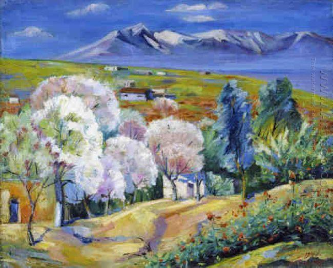 Armenia Spring In Norke 1947