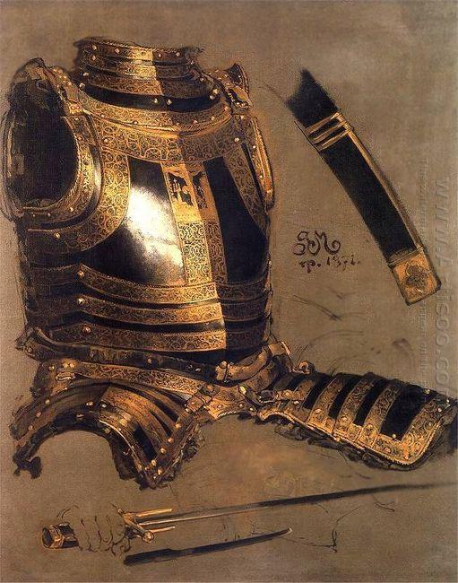 Armor Of Stefan Batory 1872