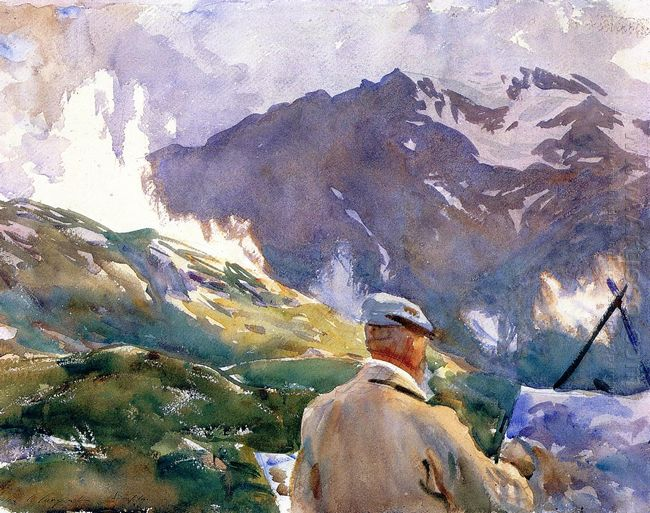 Artist In The Simplon