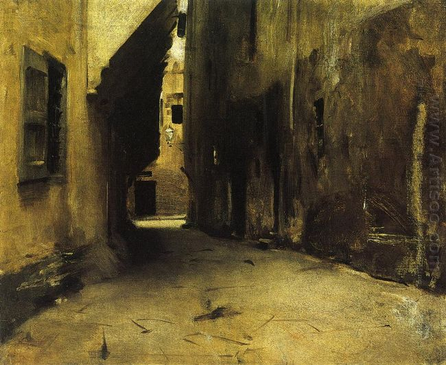 A Street In Venice 1