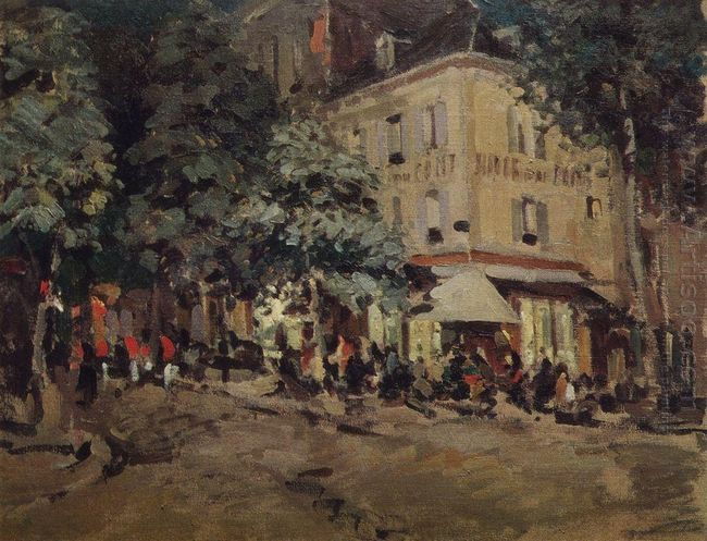 A Street In Vichy 1911