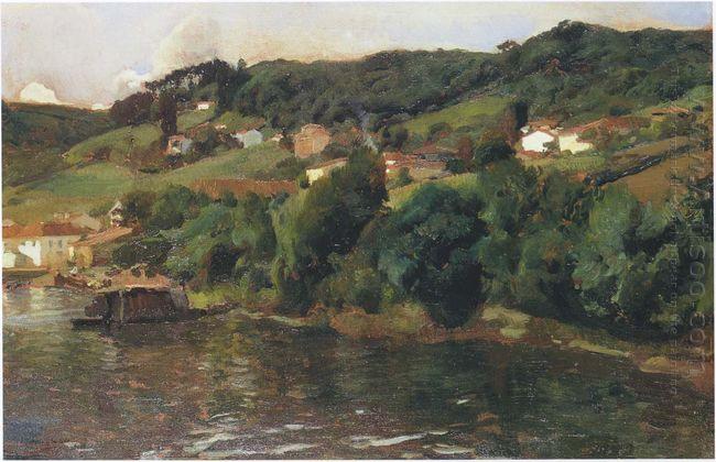 Asturian Landscape 1903