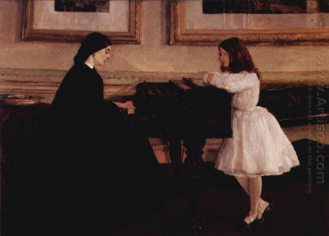At The Piano 1859