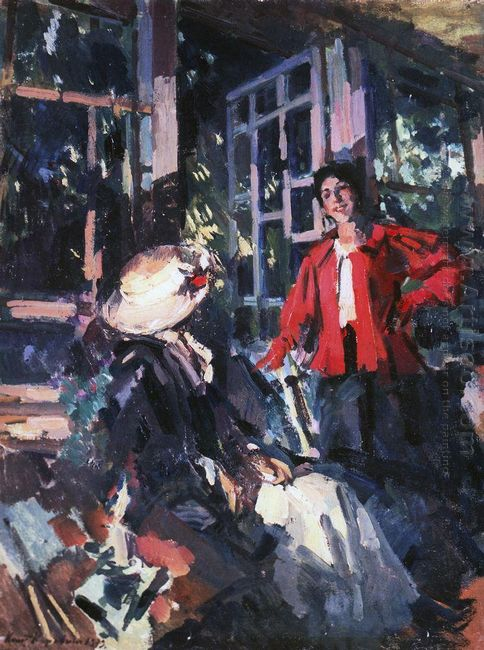 At The Window 1919