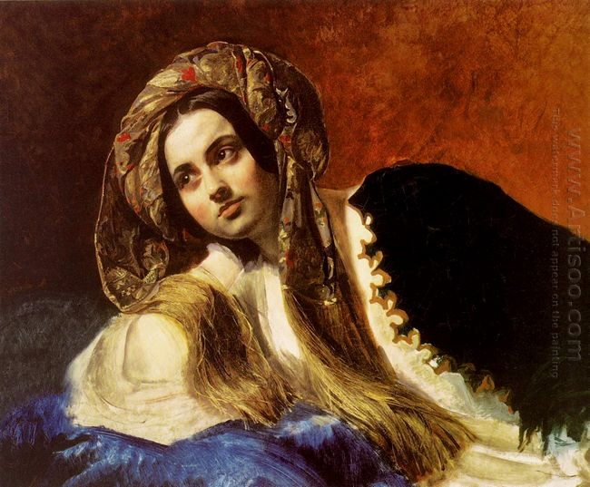 A Turkish Girl 1838