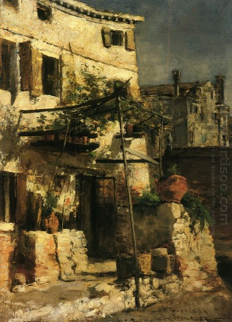A Venetian Scene 1877