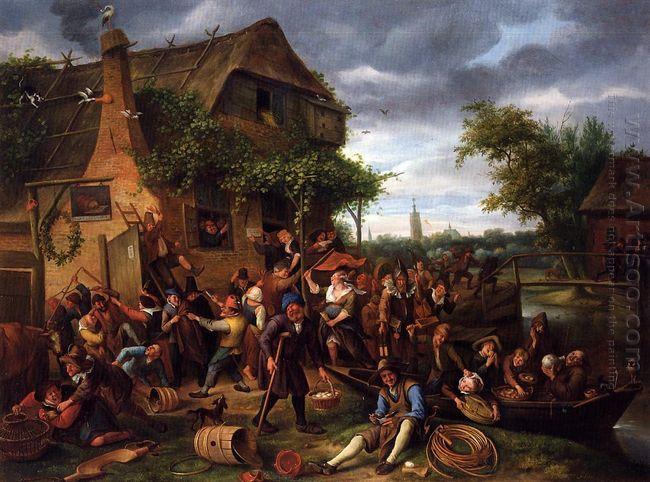 A Village Revel 1673