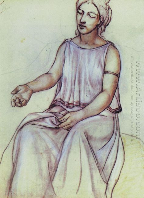 A Woman In A Chiton 1910