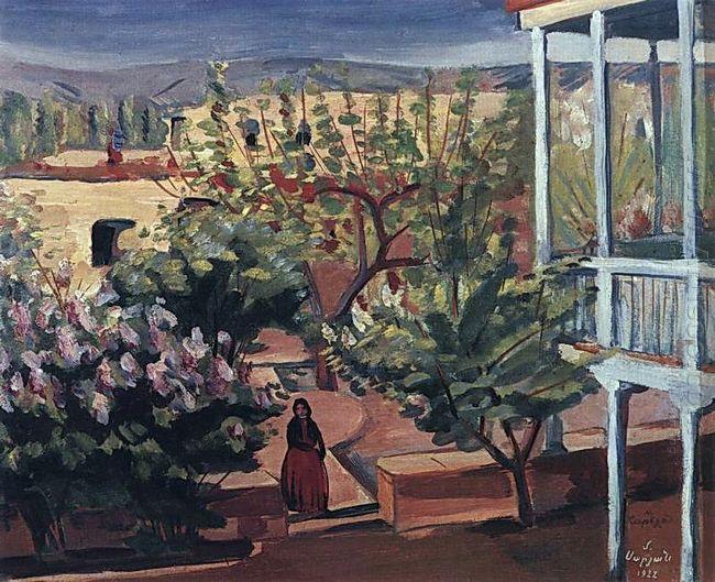 A Yard 1922