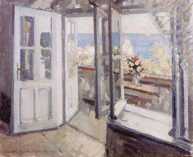 Balcony In The Crimea 1910