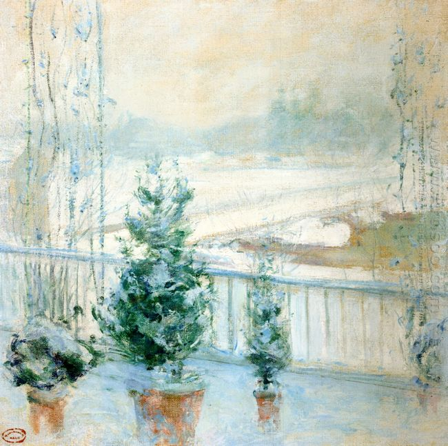 Balcony In Winter 1902