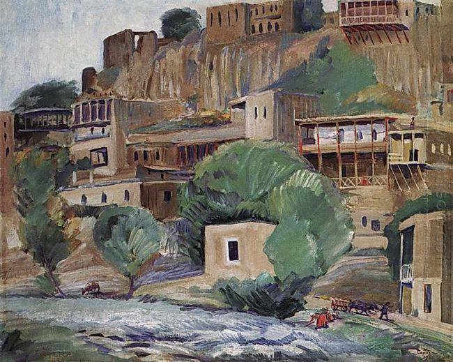 Banks Of The River Zangu Near Yerevan 1930