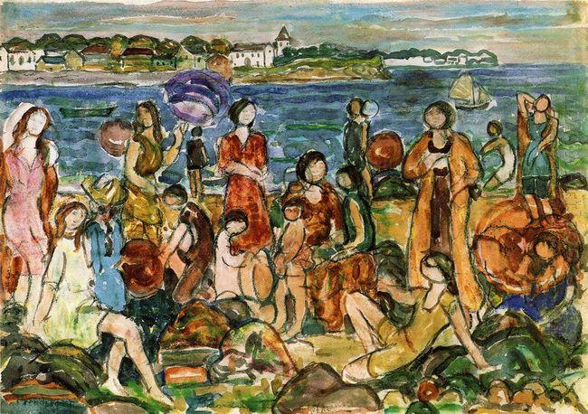 Bathers New England