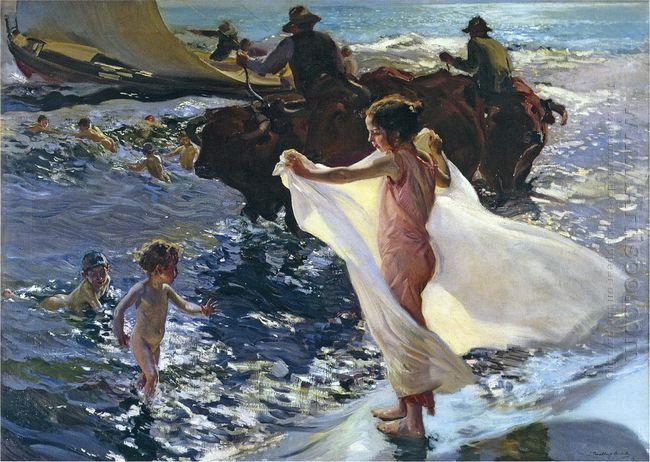 Bathing Time 1904