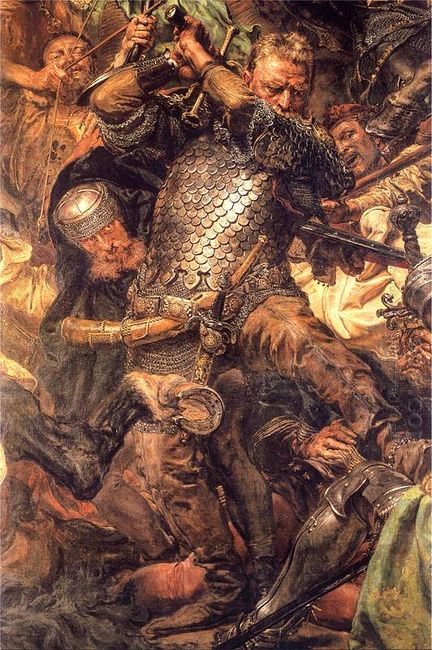 Battle Of Grunwald Jan Zizka Detail