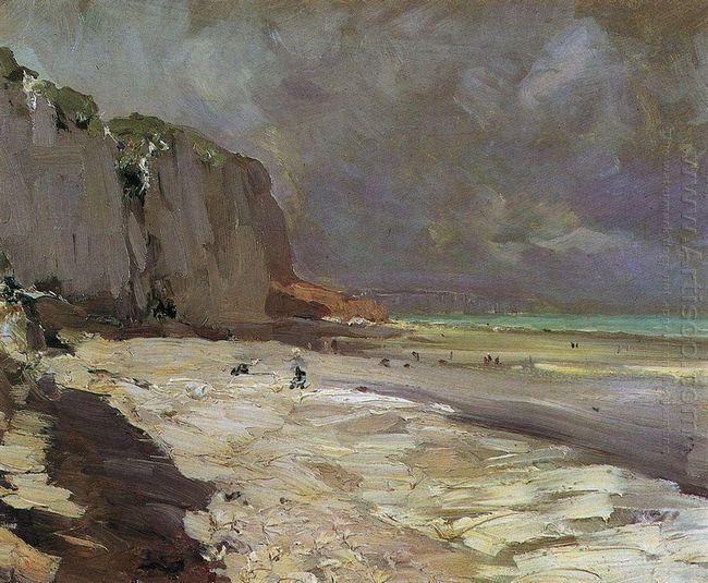 Beach At Dieppe