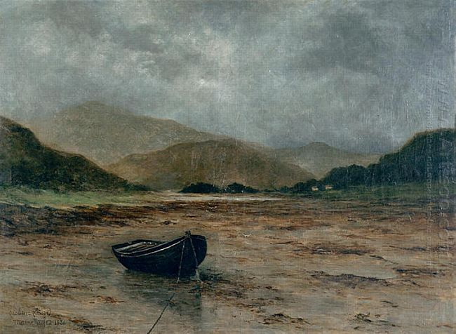 Beached Boat 1882