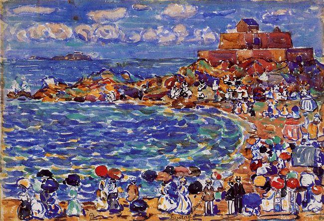 Beach St Malo 1