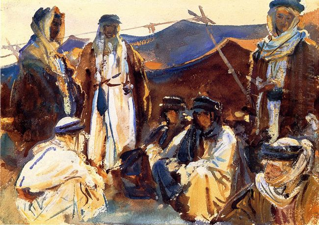 Bedouin Camp 1906