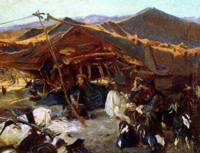 Bedouin Encampment 1906