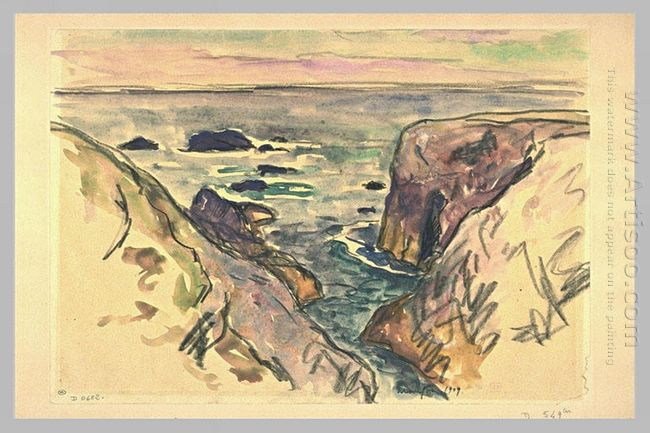 Belle Ile En Mer Evening Cote Sauvage 1909
