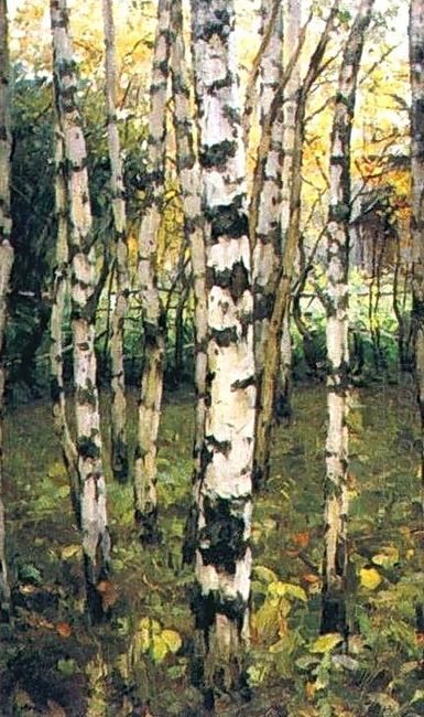 Birches Petrovskoye 1899