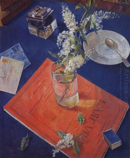 Bird Cherry In A Glass 1932