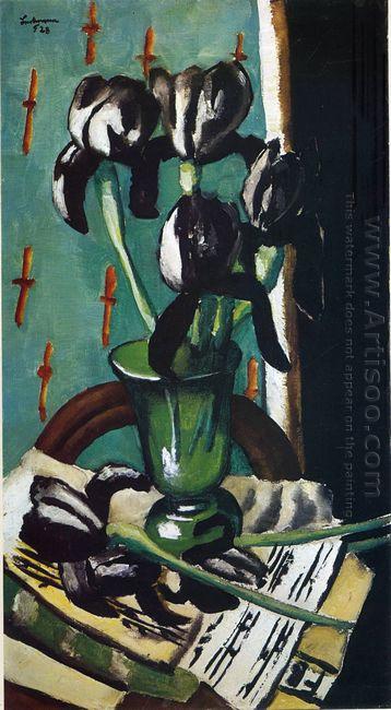 Black Irises 1928