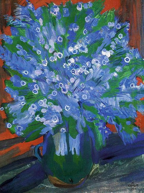 Blue Flowers 1914