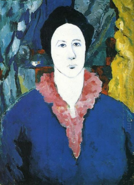 Blue Portrait 1930