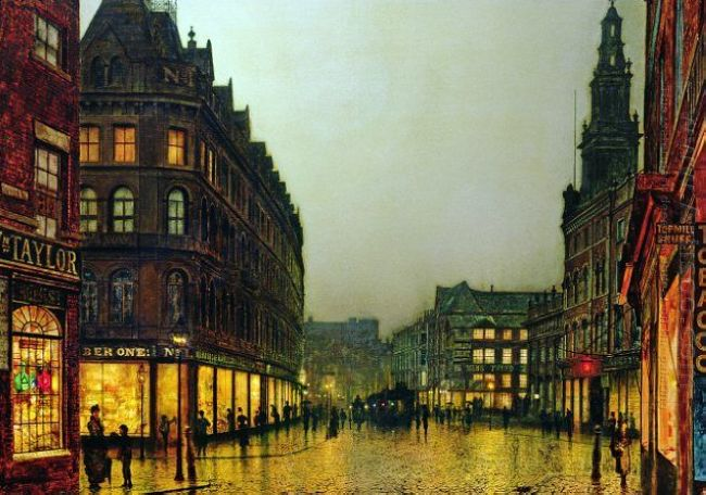 Boar Lane Leeds 1881