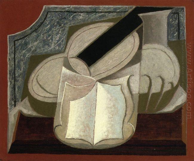 Book And Guitar 1925