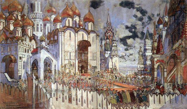 Boris Godunov Coronation 1934