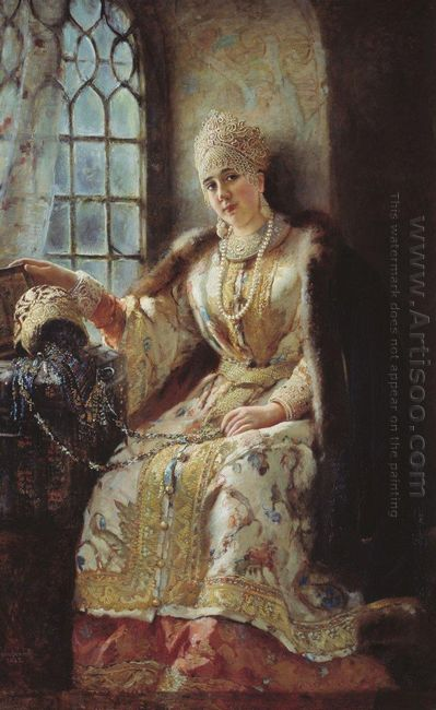 Boyar S Wife At The Window 1885