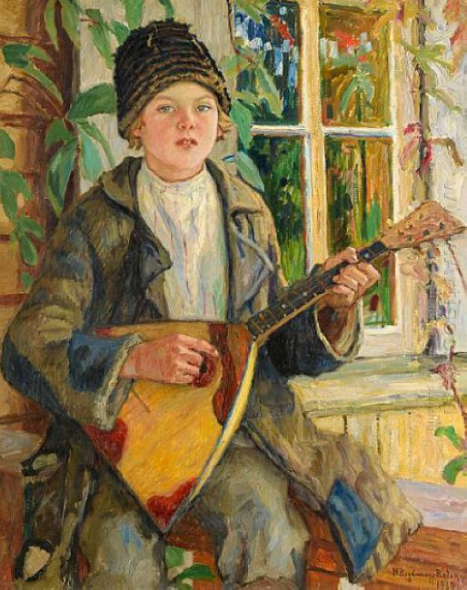 Boy With Balalaika