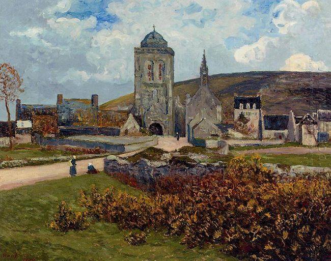 Breton Landscape 1897