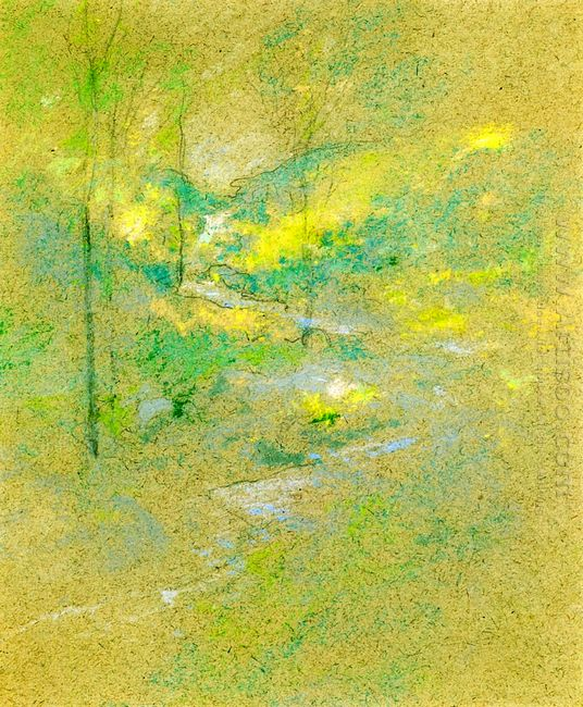 Brook Among The Trees 1891