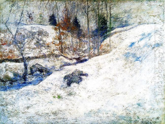 Brook In Winter
