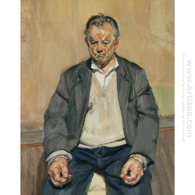 Bruce Bernard Seated