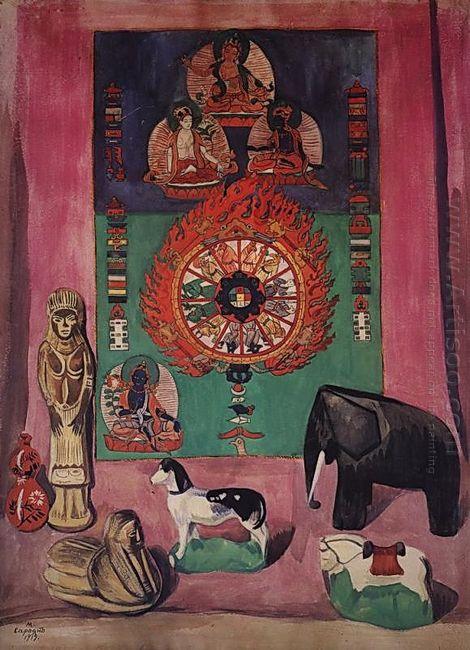 Buddhist Still Life 1919