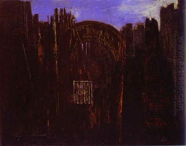 Cage Forest And Black Sun Cage 1927