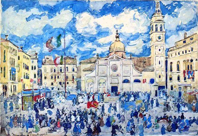 Campo Santa Maria Formosa Venice 1912