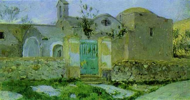 Capri Entrance To Monastery 1908