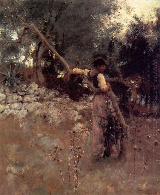 Capri Girl 1878