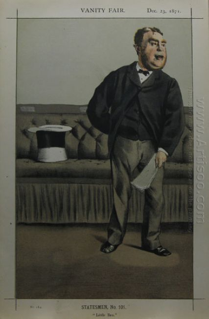 Caricature Of George Cavendish Bentinck