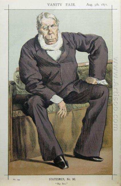 Caricature Of George William Pierrepont Bentinck M P