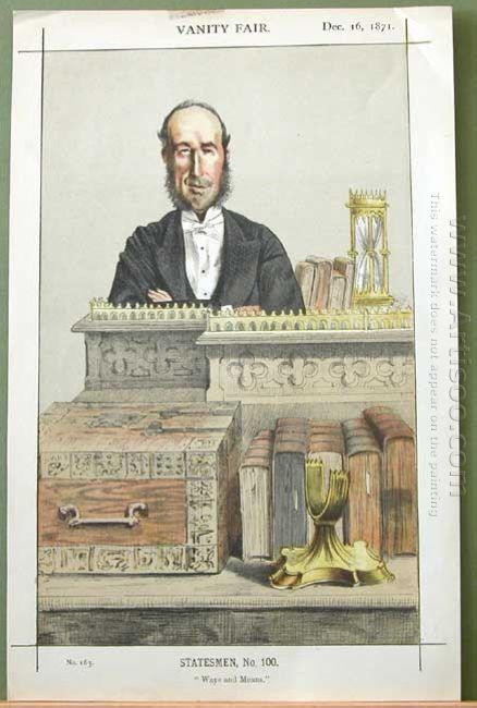Caricature Of John George Dodson M P