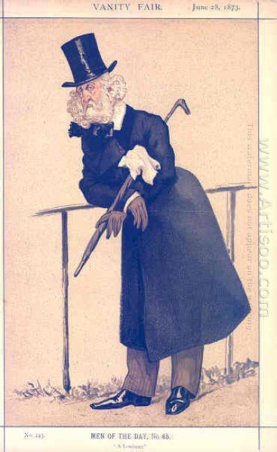 Caricature Of Mr Washington Hibbert