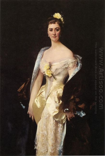 Caroline De Bassano Marquise D Espeuilles 1884